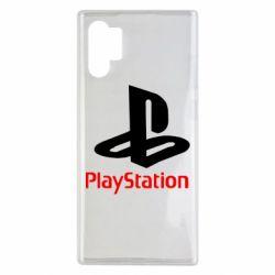 Чехол для Samsung Note 10 Plus PlayStation