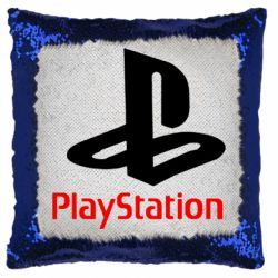 Подушка-хамелеон PlayStation