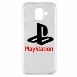 Чохол для Samsung A6 2018 PlayStation - FatLine