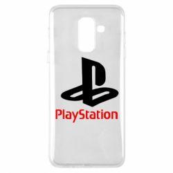 Чохол для Samsung A6+ 2018 PlayStation - FatLine