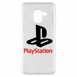 Чохол для Samsung A8 2018 PlayStation - FatLine
