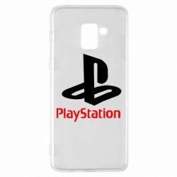 Чохол для Samsung A8+ 2018 PlayStation - FatLine