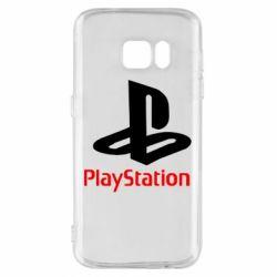 Чохол для Samsung S7 PlayStation - FatLine