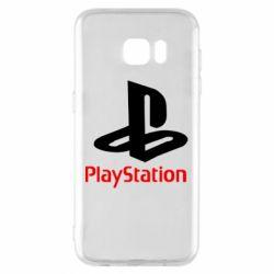 Чохол для Samsung S7 EDGE PlayStation - FatLine