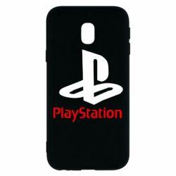 Чохол для Samsung J3 2017 PlayStation - FatLine