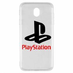 Чохол для Samsung J7 2017 PlayStation - FatLine
