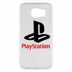 Чохол для Samsung S6 PlayStation - FatLine