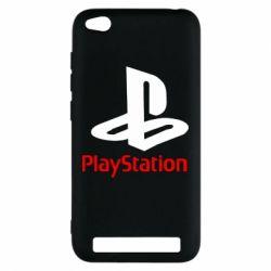 Чохол для Xiaomi Redmi 5a PlayStation - FatLine