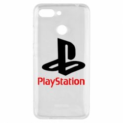 Чохол для Xiaomi Redmi 6 PlayStation - FatLine