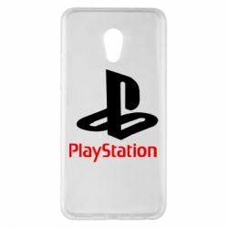 Чохол для Meizu Pro 6 Plus PlayStation - FatLine