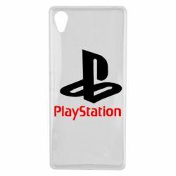 Чохол для Sony Xperia X PlayStation - FatLine