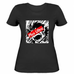Жіноча футболка Plus ultra My hero academia