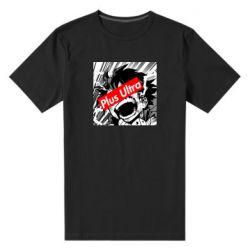 Чоловіча стрейчева футболка Plus ultra My hero academia