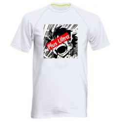 Чоловіча спортивна футболка Plus ultra My hero academia