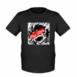 Дитяча футболка Plus ultra My hero academia