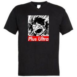 Мужская футболка  с V-образным вырезом Plus ultra