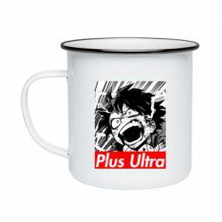 Кружка эмалированная Plus ultra