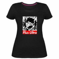 Женская стрейчевая футболка Plus ultra