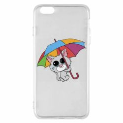 Чохол для iPhone 6 Plus/6S Plus Plush cat