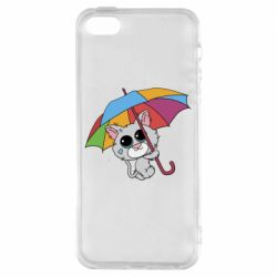 Чохол для iphone 5/5S/SE Plush cat