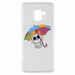 Чохол для Samsung A8+ 2018 Plush cat