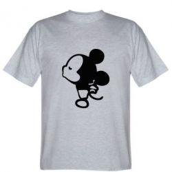 Мужская футболка Поцелуй мышек (м)