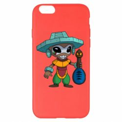 Чехол для iPhone 6 Plus/6S Plus Poco Ancient Alien God