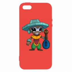 Чехол для iPhone5/5S/SE Poco Ancient Alien God