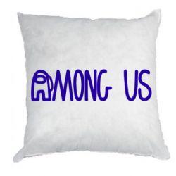 Подушка Among Us Logo