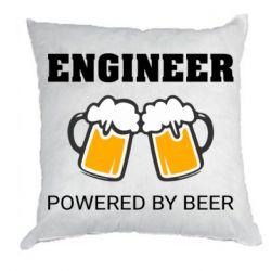 Подушка Engineer Powered By Beer