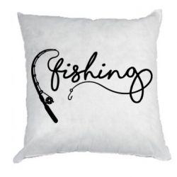 Подушка Fishing and fishing rod