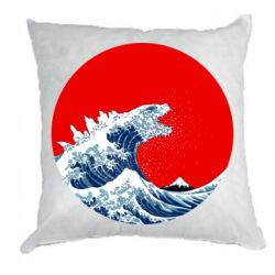 Подушка Godzilla Wave