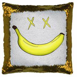 Подушка-хамелеон Banana smile