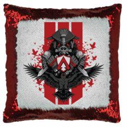 Подушка-хамелеон Bloodhound Art