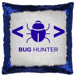 Подушка-хамелеон Bug Hunter