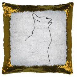 Подушка-хамелеон Cat line