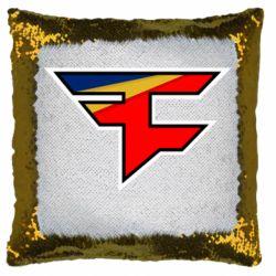 Подушка-хамелеон FaZe Clan