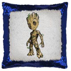 Подушка-хамелеон Groot teen