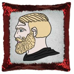 Подушка-хамелеон Meme Man Nordic Gamer