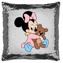 Подушка-хамелеон Minnie And Bear