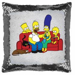 Подушка-хамелеон Simpsons At Home