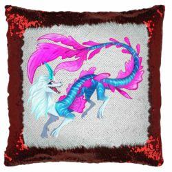 Подушка-хамелеон Sisu Water Dragon