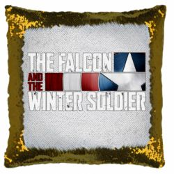 Подушка-хамелеон The Falcon and the Winter Soldier