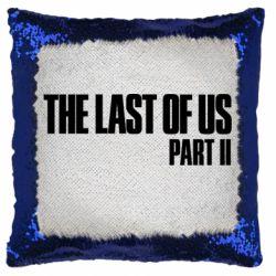 Подушка-хамелеон The last of us part 2 logo