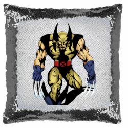 Подушка-хамелеон Wolverine comics