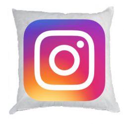 Подушка Instagram Logo Gradient