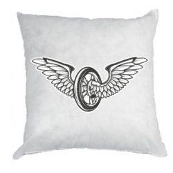 Подушка Колесо та крила