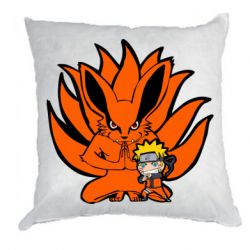 Подушка Kurama And Naruto
