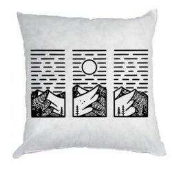 Подушка Mountain sun