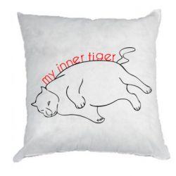 Подушка My inner tiger